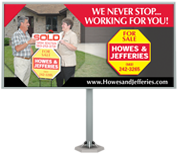 Howes & Jefferies Realtors, Design: Garcia Graphics
