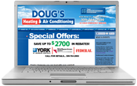 Quad Cities Illinois Heating and AC company, DougsHeatingAndAirConditioning.com