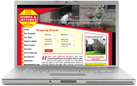 Howes & Jefferies Realtors, Programming: Clearfire Studios, Design: Graham Graphics